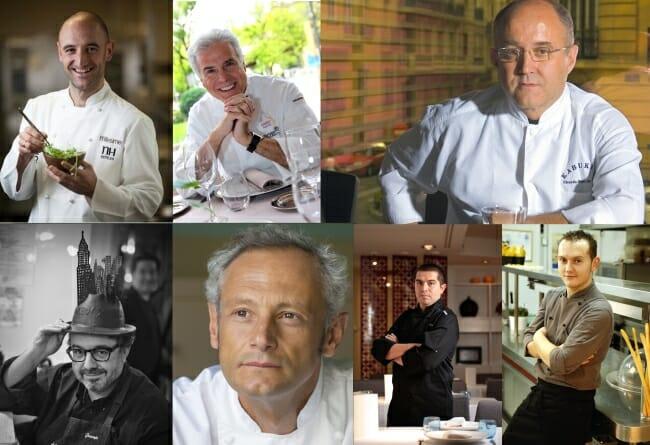 Los 8 chefs de Zelebri en Madrid
