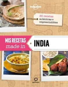 Portada de Mis recetas made in India