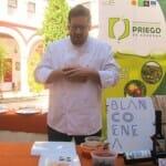 José María González Blanco, del restaurante Blanco Enea, hablando del AOVE