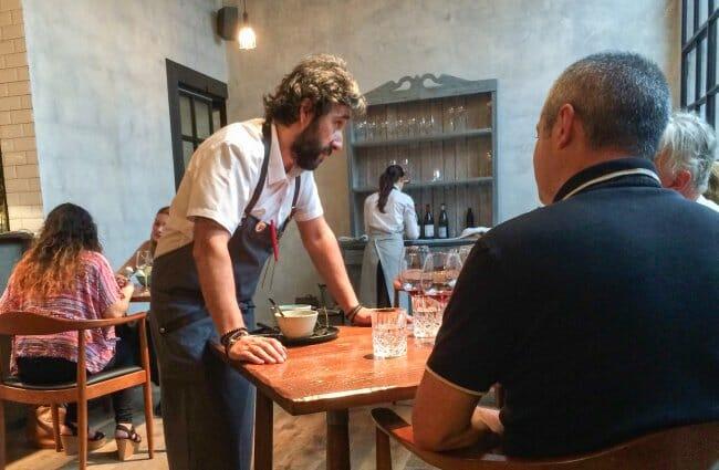 La interacción cliente-chef se lleva al máximo nivel en sala