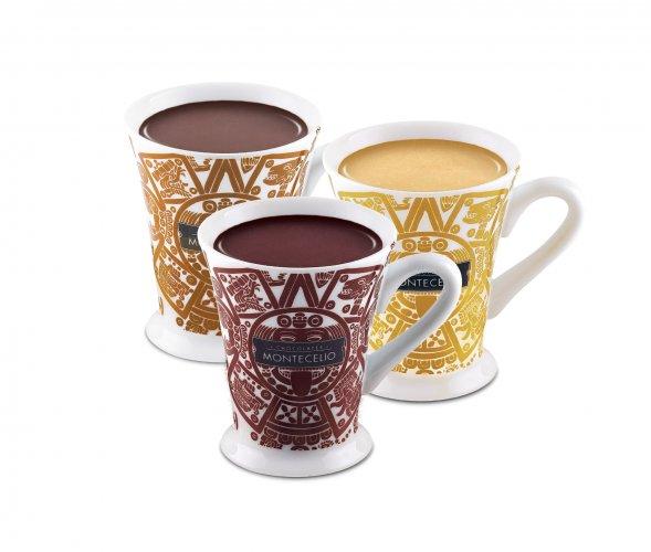 Chocolates a la taza con sabores exóticos y aptos para celíacos