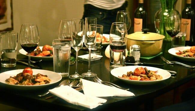 Diez claves para organizar una cena con xito en casa - Cenas faciles para invitados ...