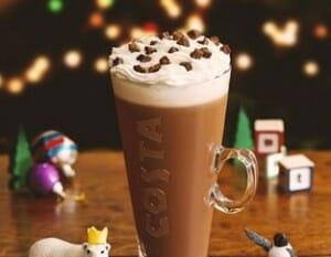 Una de las elaboraciones de Costa Coffee