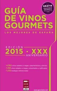 Portada de Guía de vinos Gourmets 2015