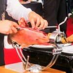Concurso de cortadores de jamón