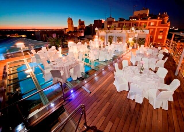 D nde celebrar la boda perfecta comer for Restaurantes con piscina en comunidad de madrid