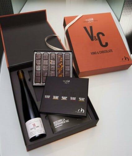 """""""V&C"""", la combinación de Vino y Chocolate de Oriol Balaguer"""