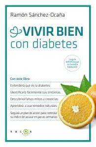 Portada de Vivir bien con diabetes: la guía definitiva que no necesita traducción