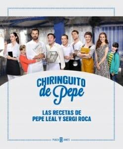 Portada de Chiringuito de Pepe: las recetas de Pepe Leal y Sergi Roca