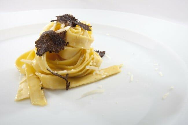Pasta con trufa de Andrea Tumbarello