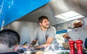 Food truck en Eat Street de Barcelona