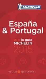 Portada de Guía Michelin 2015 de España y Portugal