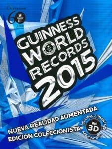 Portada de Guinness World Records 2015: edición coleccionista 60º Aniversario