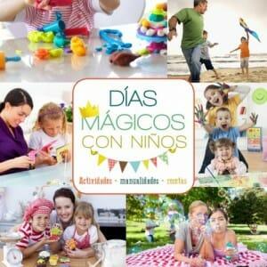 Portada de Días mágicos con niños: actividades, manualidades y recetas