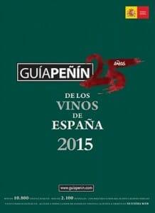 Portada de Guía Peñín de los vinos de España 2015
