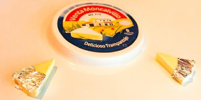 Trampantojo de queso del restaurante Venta Molcalvillo