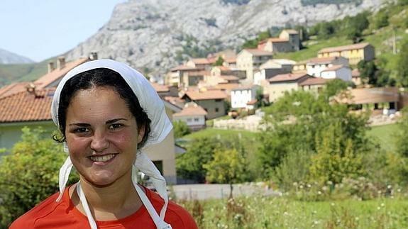 La quesera Jessica López, ganadora del Certamen 2014 (Imagen: El Comercio)