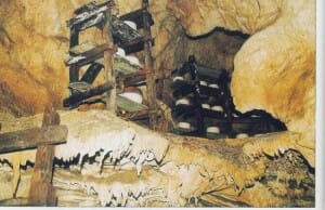 Cueva exposición de la Fundación Cabrales