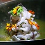 Elaboración del chef chileno Klein en El regreso de Winnipeg