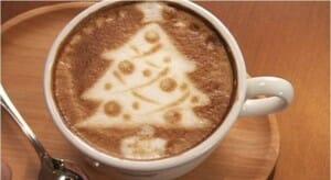 En Costa Coffee personalizan los diseños del café según la fecha