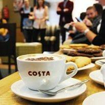 Costa Coffee, 2.700 establecimientos en más de 30 países