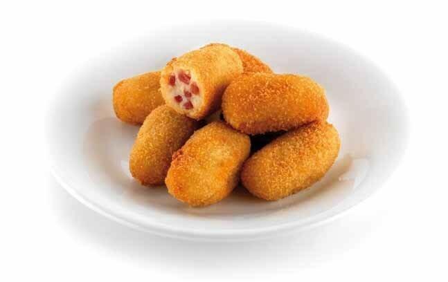 Croquetas de jamón y queso