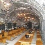 Interior de la bodega Oremus