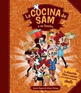 Portada de La cocina de Sam y su familia