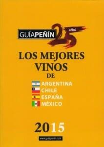 Portada de Los mejores vinos de Argentina, Chile, España y México 2015