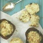 Muffins de queso y cebolla