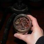 Uvas botritizadas, deshidratas por el hongo