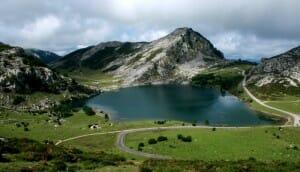 Uno de los impresionantes paisajes asturianos