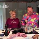 Alberto Chicote cocina con su madre… Conejo con tomate
