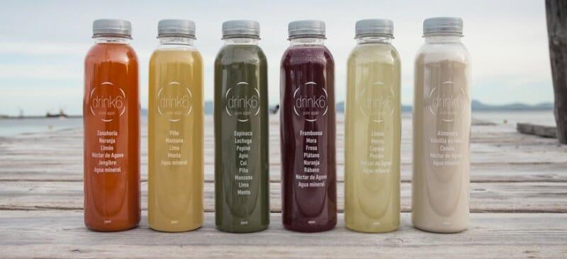 Las 6 variedades de zumo de Nutrimedic