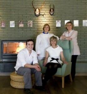 El equipo del Restaurante Estrella del bajo Carrión, en Villoldo