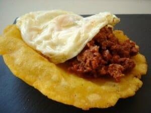 Torto asturiano, uno de los clásicos de la comunidad