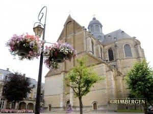 Fachada de la Abadía belga de Grimbergen