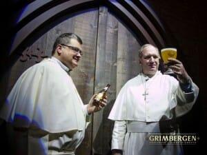 El Abad Erik y el Padre Karel, embajadores de la marca