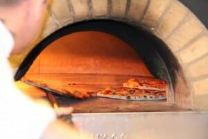 Horno de leña para pizzas de Da Luca