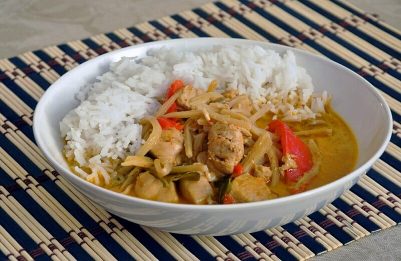 Curry, uno de los platos estrellas tailandeses
