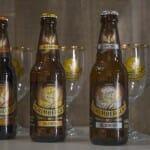 Las tres variedades principales de cerveza Grimbergen