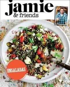 Portada de Jamie & friends ensaladas