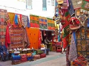 El colorido Marruecos