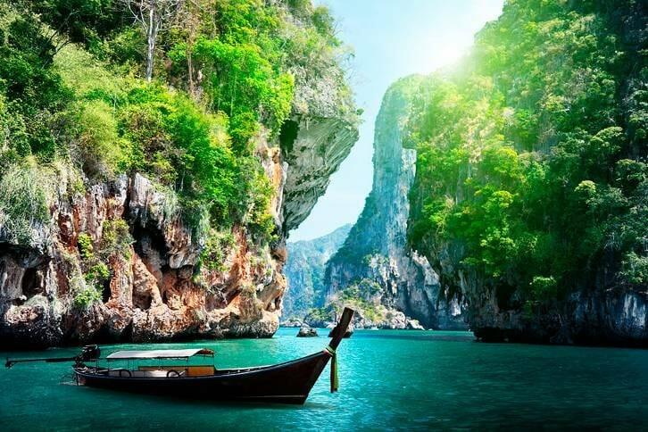 La belleza de Tailandia