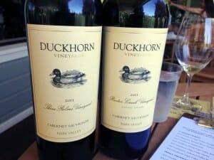 Vinos en Duckhorn