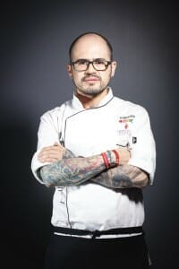 Pablo Salas, uno de los chefs mexicanos presentes en Millesime Madrid