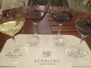 Cata de vinos en Sterling