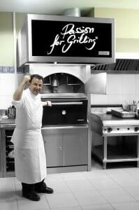 Berasategui cocina con horno de carbón Josper. Imagen: Josper