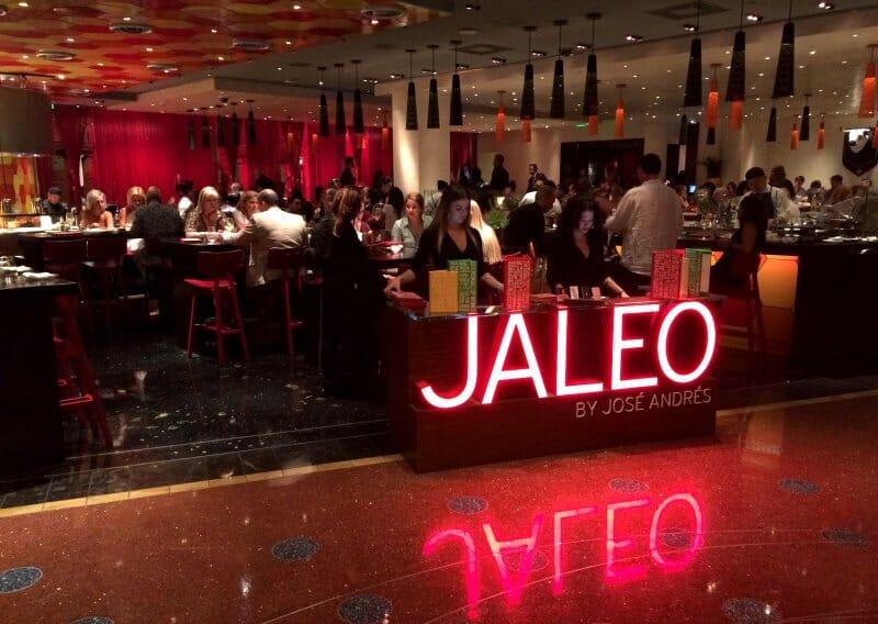 Sala de Jaleo, vista desde la entrada