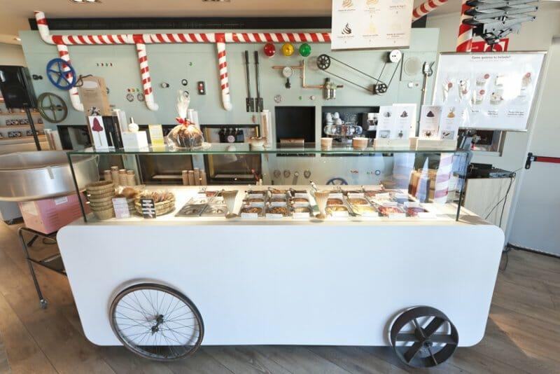El carrito de Rocambolesc en Gourmet Experience Serrano